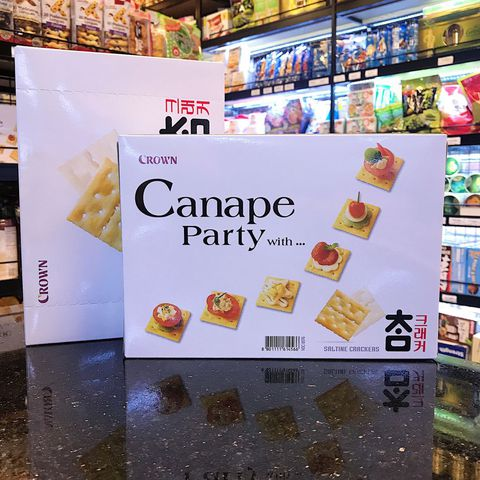 Bánh CANAPE PARTY With 280g – CROWN Hàn Quốc