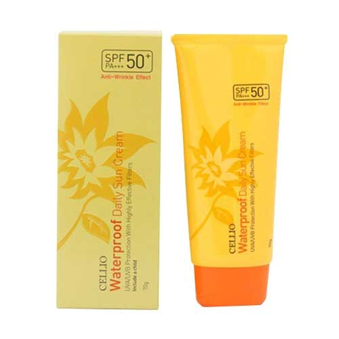 Kem Chống Nắng Cellio Waterproof Daily SPF 50+ PA+++ 70gr