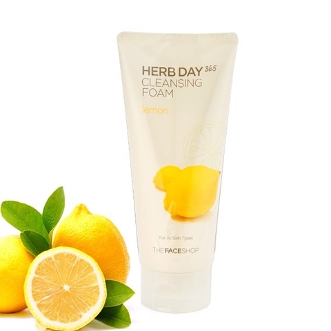 Sữa Rửa Mặt The Face Shop Herb Day 365 - 170ml
