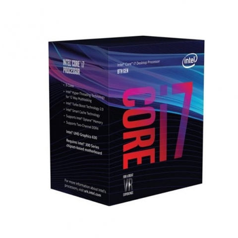 CPU Core I7-8700K (3.7GHz)