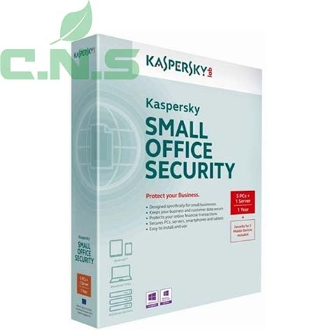 Kaspersky Small Office Security ( 1server+5pc)	 - Bản quyền 01 năm