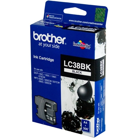 MỰC IN BROTHER LC-38BK BLACK CARTRIDGE