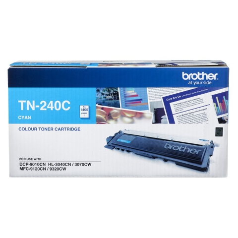 MỰC IN BROTHER TN-240 CYAN TONER CARTRIDGE (TN 240C)