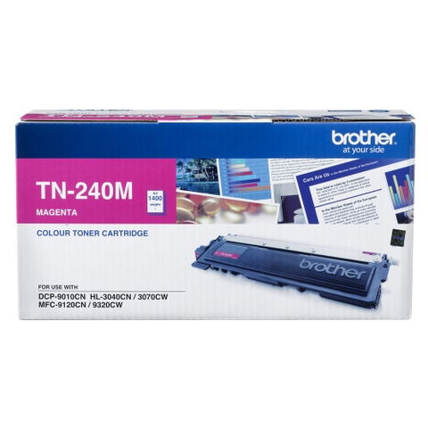 MỰC IN BROTHER TN-240 MAGENTA TONER CARTRIDGE (TN 240M)