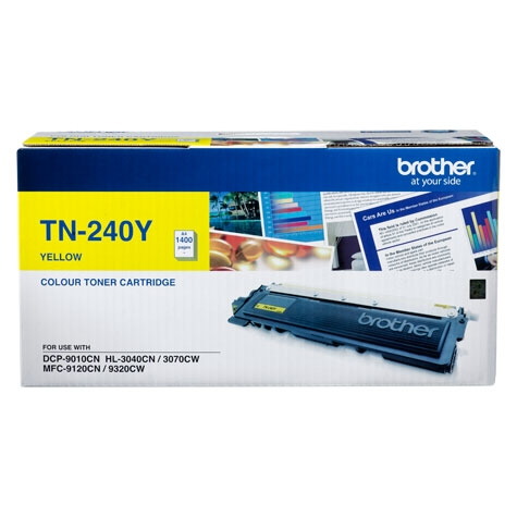 MỰC IN BROTHER TN-240 YELLOW TONER CARTRIDGE (TN 240Y)