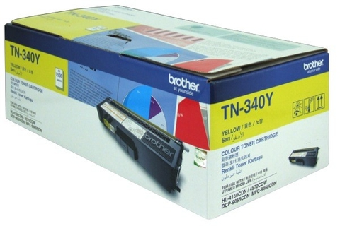 MỰC IN BROTHER TN-340 YELLOW TONER CARTRIDGE (TN 340Y)