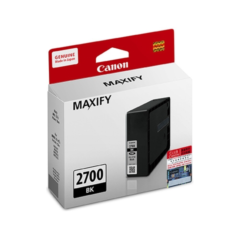 MỰC IN CANON PGI-2700BK INK CARTRIDGE (PGI-2700BK)