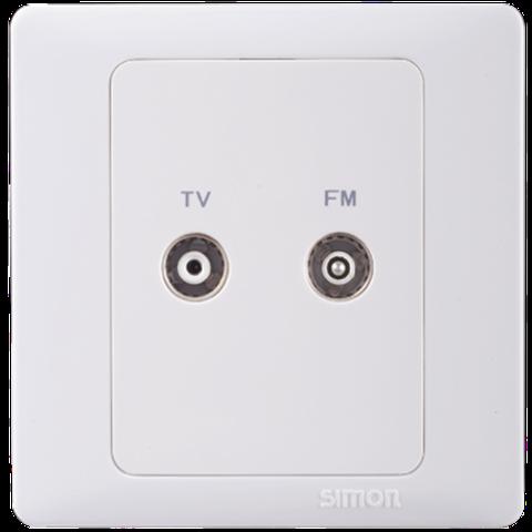 Ổ cắm Tivi | Ổ cắm FM | Ổ cắm TV/FM | 55112