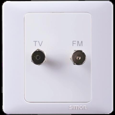 Ổ cắm Tivi | Ổ cắm FM | Ổ cắm TV/FM | 55118