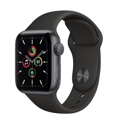 Apple Watch SE GPS Space Gray Aluminium Case with Black Sport Band