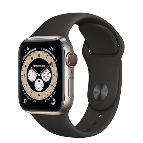 Apple Watch Series 6 Edition GPS + Cellular Titanium Case with Sport Band