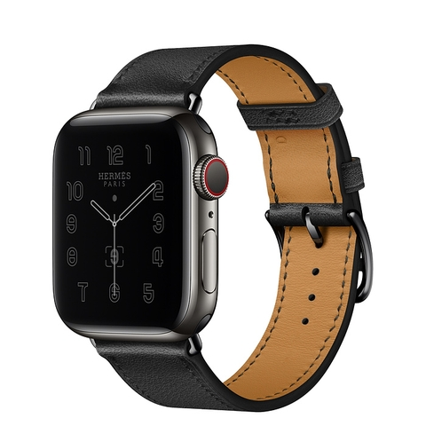 Apple Watch Series 6 Hermès GPS + Cellular 40mm Space Black Stainless Steel Case
