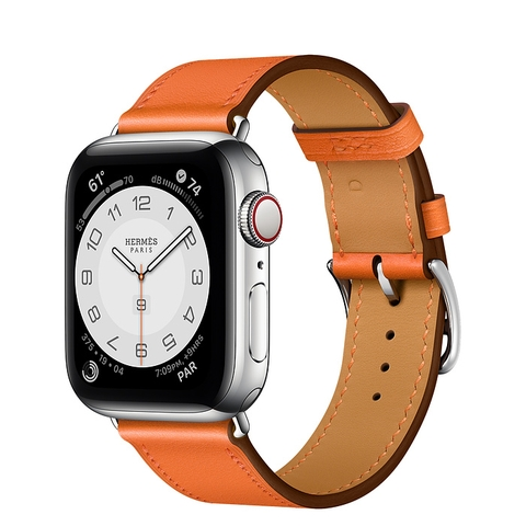 Apple Watch Series 6 Hermès GPS + Cellular 40mm Silver Stainless Steel Case