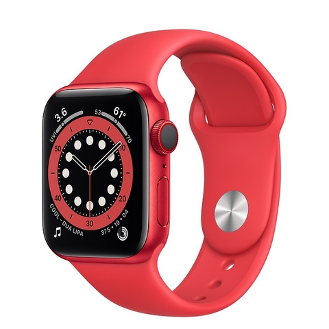 Apple Watch Series 6 GPS + Cellular PRODUCT(RED) Aluminium Case with PRODUCT(RED) Sport Band