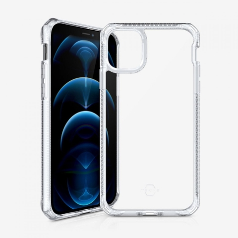 Ốp lưng ITSKINS iPhone 12 Pro Max HYBRID CLEAR
