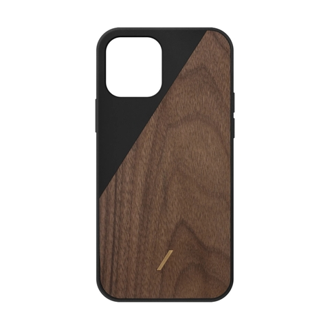Ốp lưng Native Union iPhone 12 & 12 Pro Clic Wooden