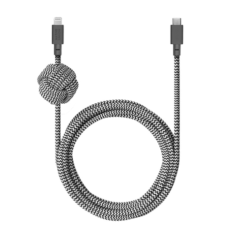 Cáp Native Union NIGHT CABLE USB-C to Lightning (3m)