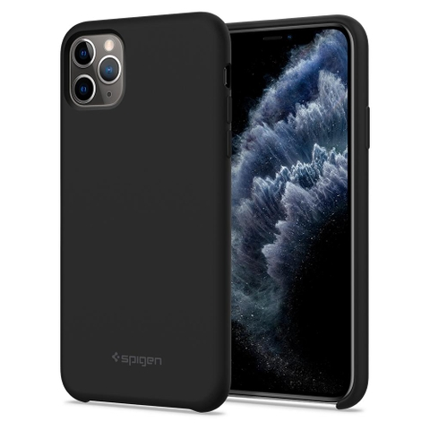 Ốp lưng SPIGEN iPhone 11 Pro Max Case Silicone Fit