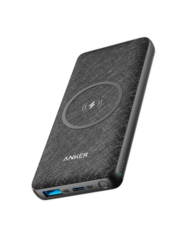 Pin Dự Phòng Anker PowerCore III 10.000mAh Wireless Charger with Qi-Certified 10W & 18W USB-C A1617