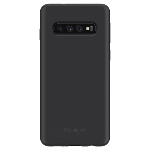 SPIGEN Galaxy S10 Case Silicone Fit Black