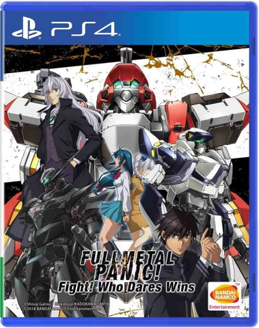 Game Full Metal Panic! Fight: Who Dares Wins PS4 New