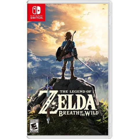 THE LEGEND OF ZELDA: BREATH OF THE WILD Nintendo Switch New
