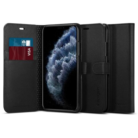 Ốp lưng SPIGEN iPhone 11 Case Wallet S