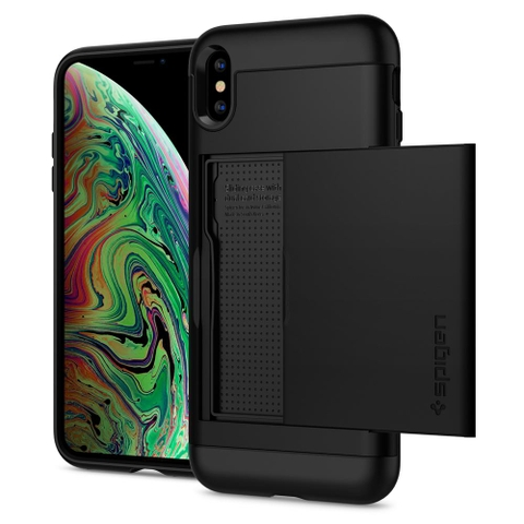 Ốp lưng SPIGEN iPhone XS Max Case Slim Armor CS