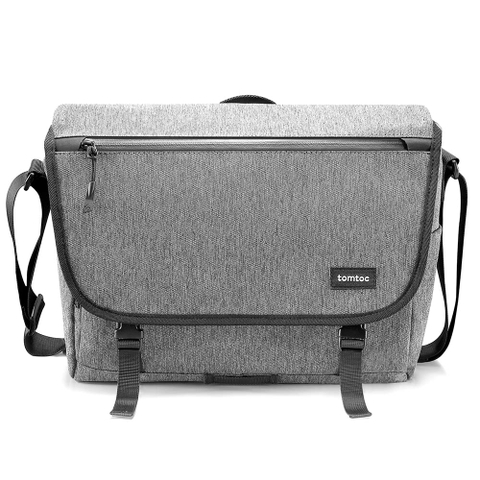 TÚI ĐEO VAI TOMTOC (USA) CASUAL MESSENGER MULTI-FUNCTION FOR ULTRABOOK 13″-13.5″ GRAY A47