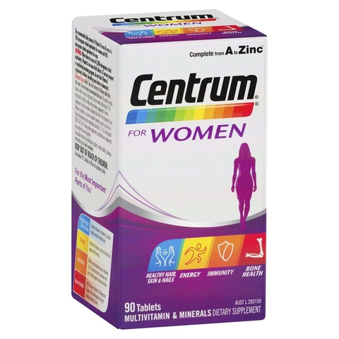 VITAMIN TỔNG HỢP CENTRUM FOR WOMEN