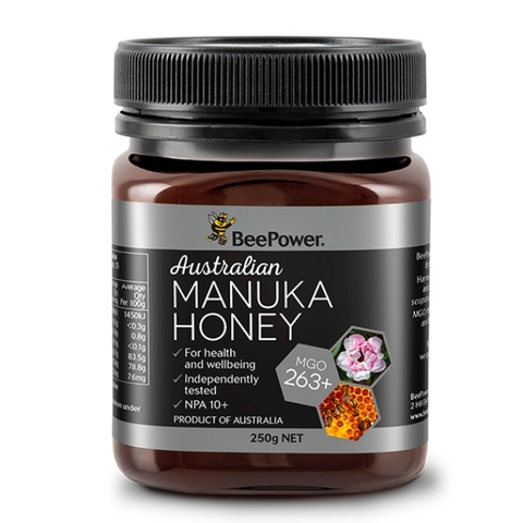 MẬT ONG AUSTRALIAN MANUKA HONEY BEEPOWER MGO 263+