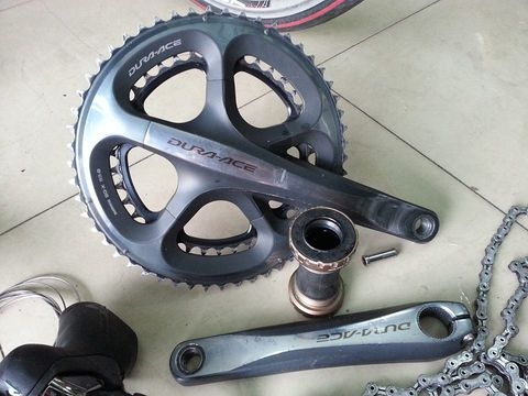 Phụ tùng xe đạp-Group dura-ace 7900.10speed(made in japan)