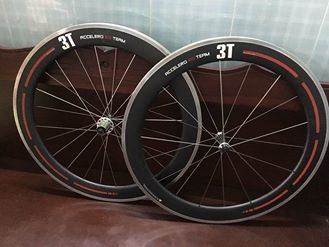 Wheelsets 3T accelero 60 team.model 2015 italia clincher.cacbon