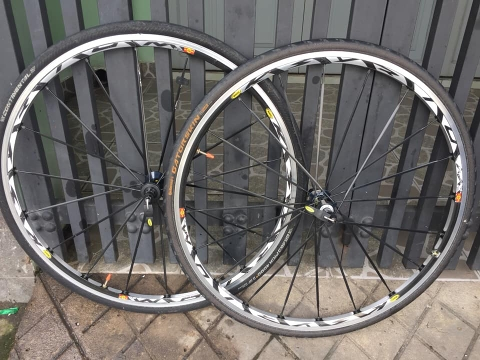 Wheelset MAVIC ksyrium made in France