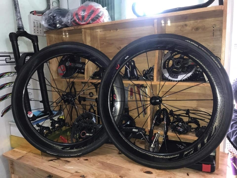 Wheelset ZIPP 404 USA
