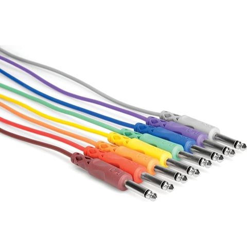 Hosa Unbalanced Patch Cables 1/4