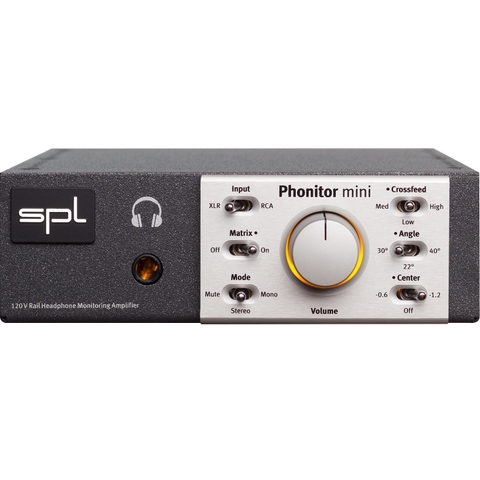 SPL Phonitor Mini Headphone Monitoring Amplifier