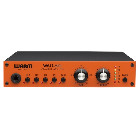 Warm Audio WA12 MKII Discrete Mic Preamp