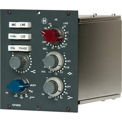 Heritage Audio 1073/500 Mic Pre 3 Band EQ