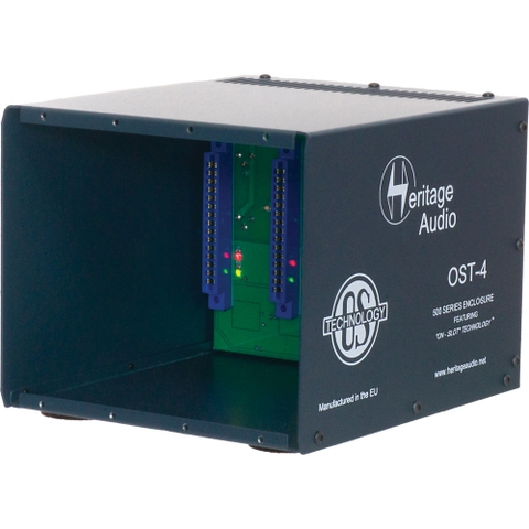 Heritage Audio OST-4 500 Series Modules Enclosure
