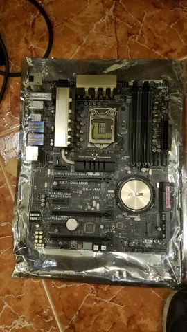 Mainboard ASUS Z97-DELUXE (used) bao test 2 tuần