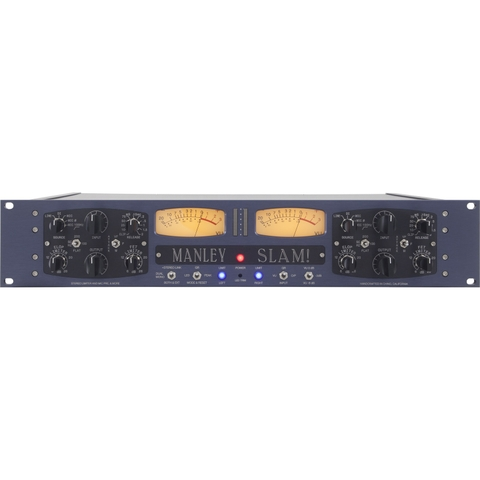 Manley SLAM! Dual Mic Preamp with Limiter