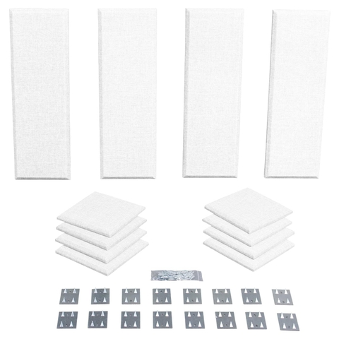 Primacoustic London 8 Studio Kit (White - Paintable)