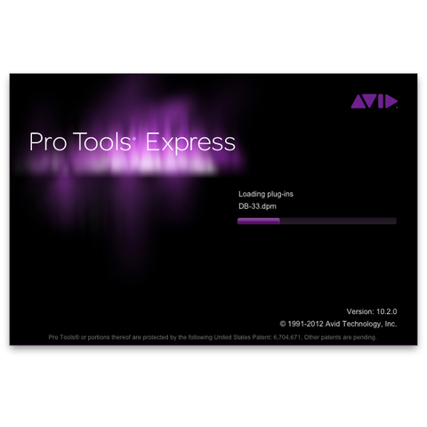 Avid Pro Tools Express with iLok 2
