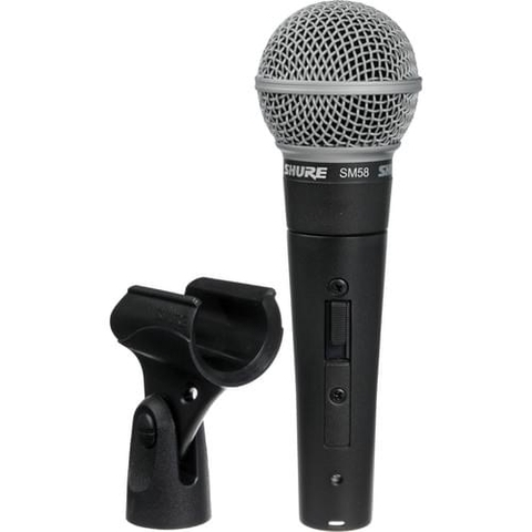 Shure SM58S Dynamic Vocal Mic with Switch