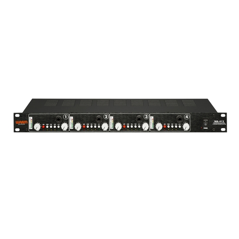 Warm Audio WA-412 4-channel Mic Preamp with DI