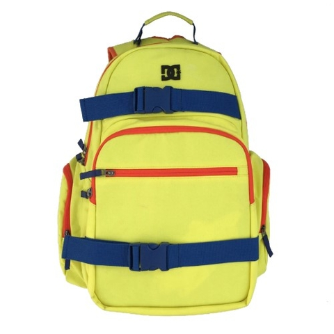 DC Shoes Detention Backpack Yellow