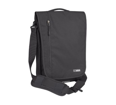 Stm Linear Medium Laptop Shoulder Bag Black