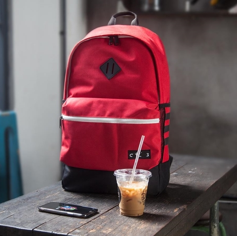 Adidas Classic 3S Backpack Burgundy