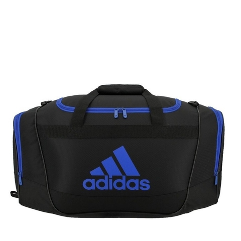 Adidas Defender II Duffel Bag Black/Blue